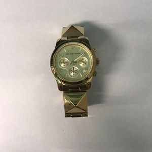 Gold Women's Michael Kors Watch